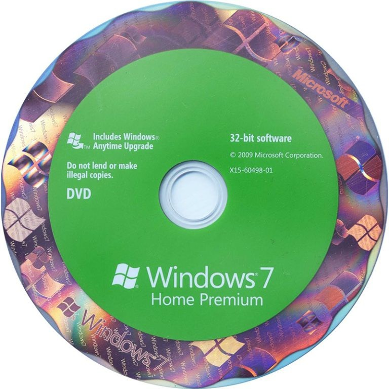 Windows 7 Toshiba Recovery Disk