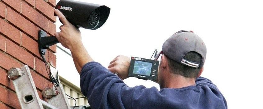 Монтаж и установка видеонаблюдения