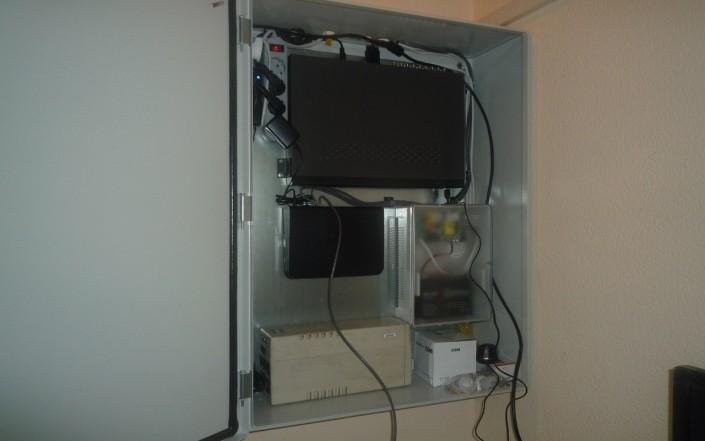 Настройка видеорегистратора в шкафу