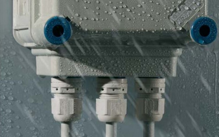 Защита соединений видеокамеры от воды