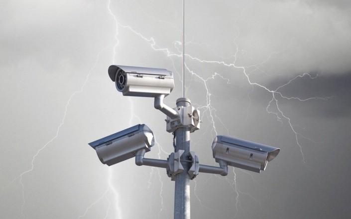 Грозозащита уличной видеокамеры