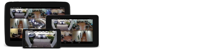 Просмотр камер онлайн через телефон.