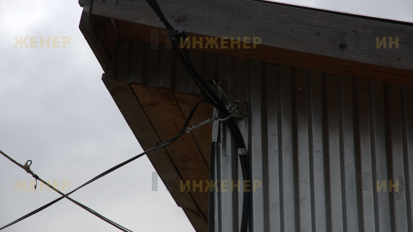 Установка видеонаблюдения в СНТ «Южный»
