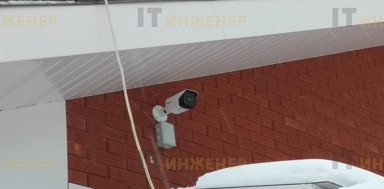 Установка видеонаблюдения в коттедже. Гарантия 3 года.