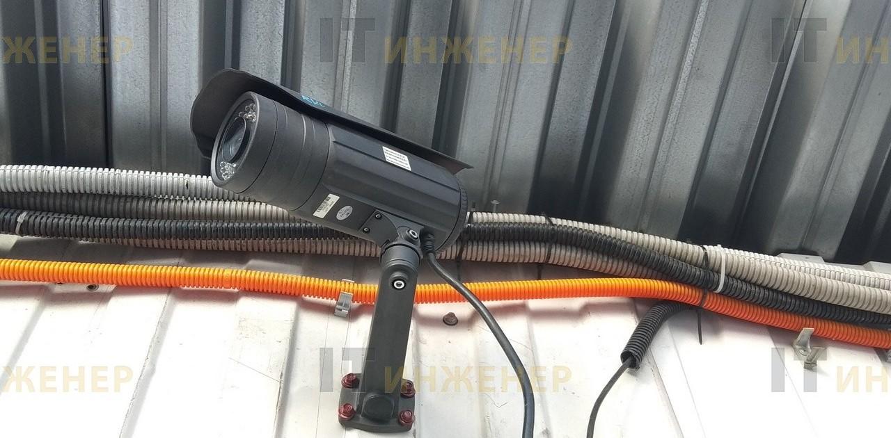 Эта старая камера RVI предоставленная заказчиком еще в хорошем состоянии.