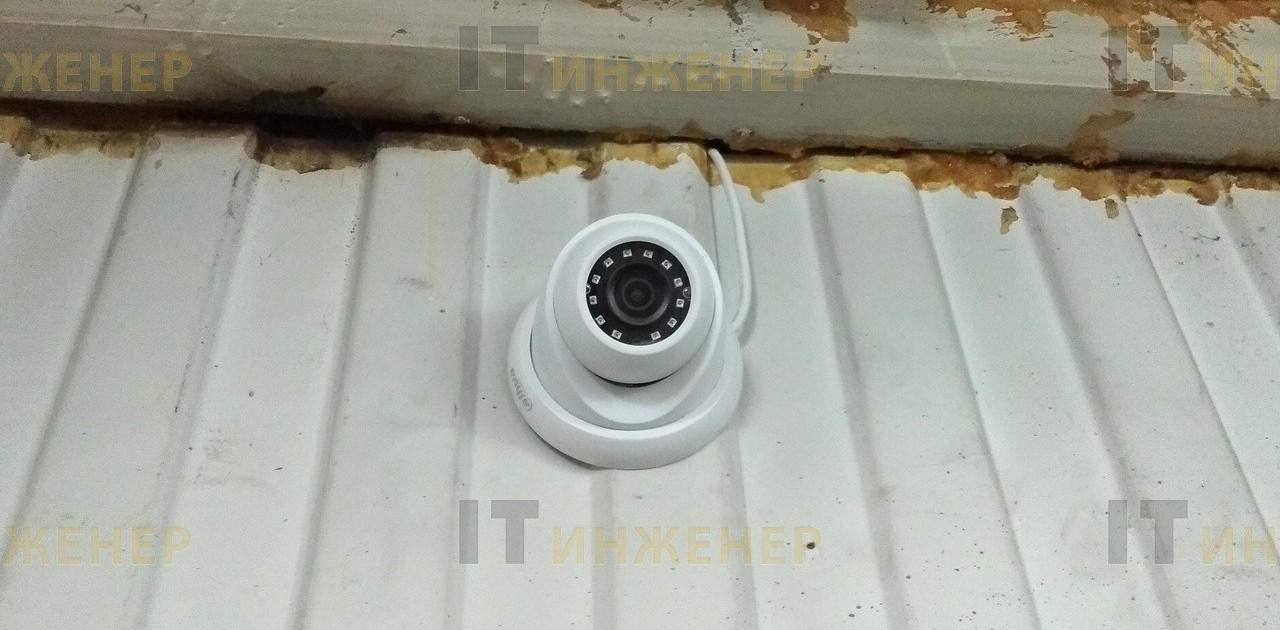 Установка видеонаблюдения на производстве