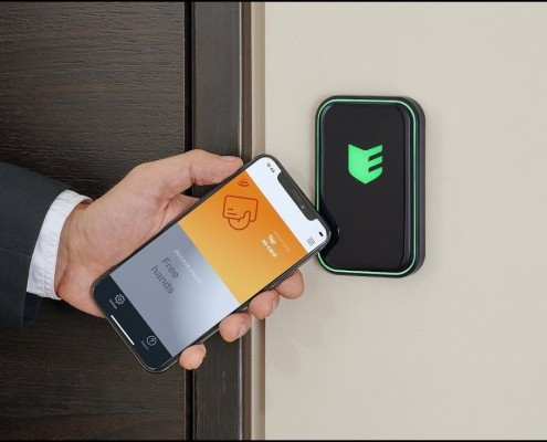 Cчитыватель СКУД ESMART Reader, доступ с мобильных телефонов.