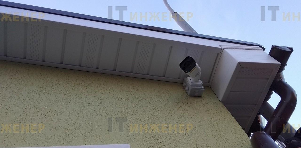 Установка видеокамеры в частном доме.