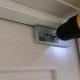 Установка электромагнитного замка ML180 на деревянную дверь.